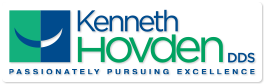 Logo for Dr. Ken Hovden, a cosmetic dentist in Daly City, California